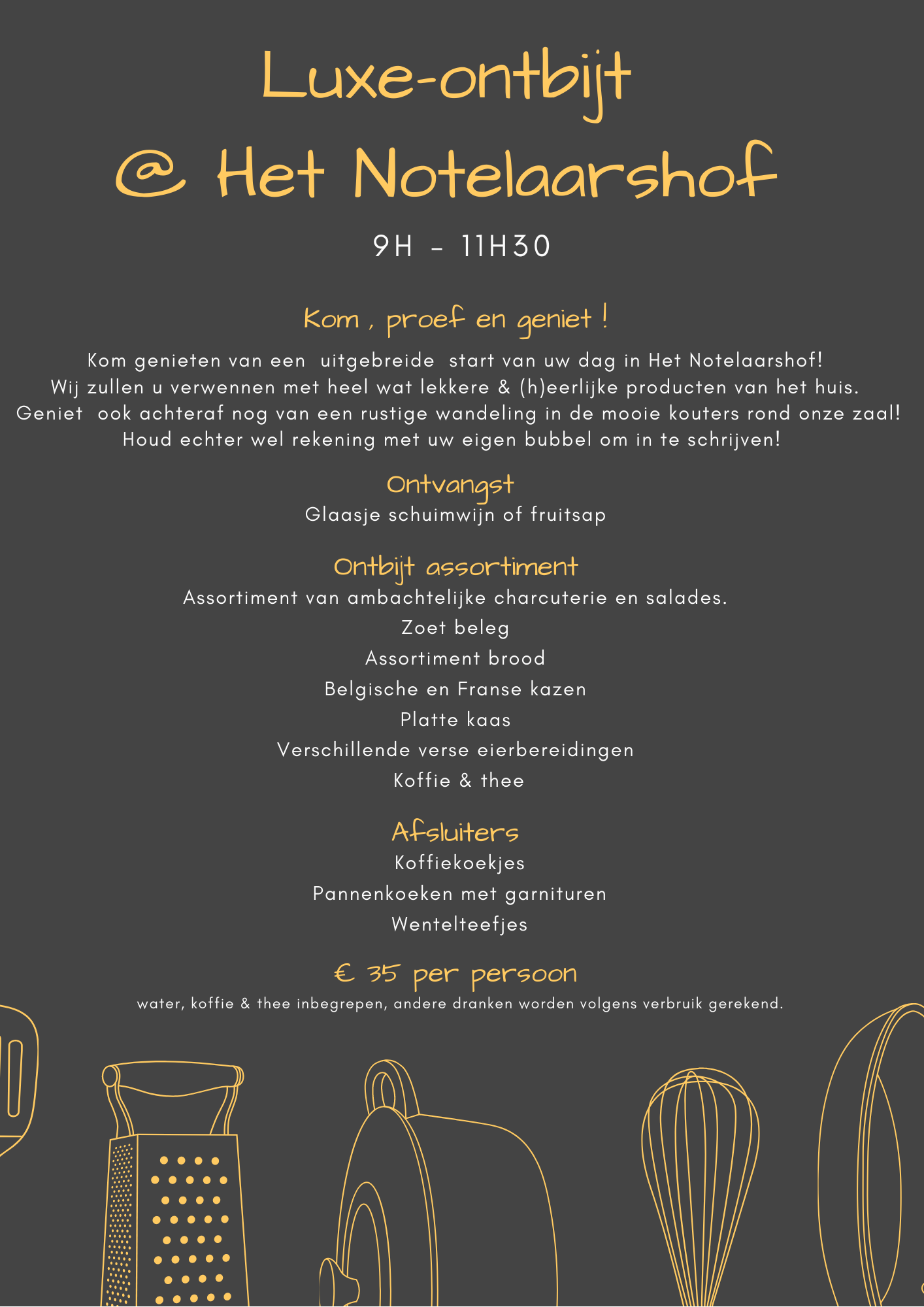 Brunch | Thema - Het Notelaarshof